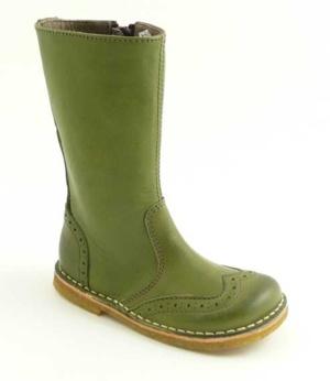 Bisgaard, kinderlaarzen in de kleur groen.