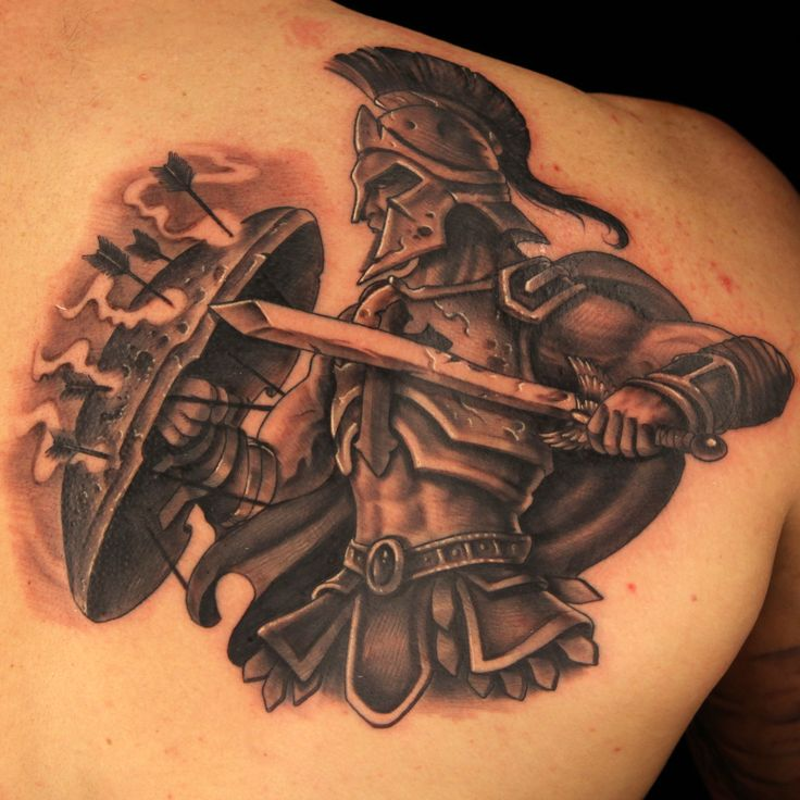 Tatto warrior by halo ink master tattoos pinterest for Tattoos by halo