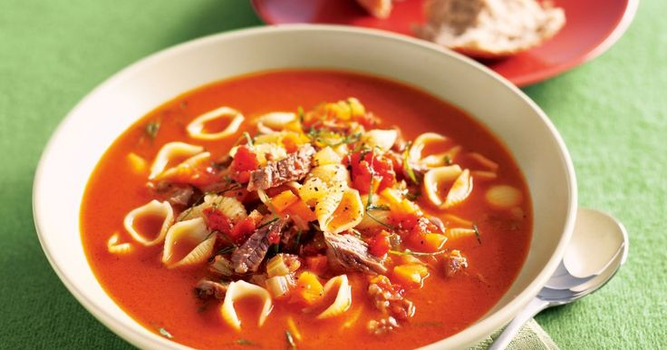 Cook this soup on a nice gentle heat for a long time and you'll be rewarded with a heart-warming dinner that's still low in fat.