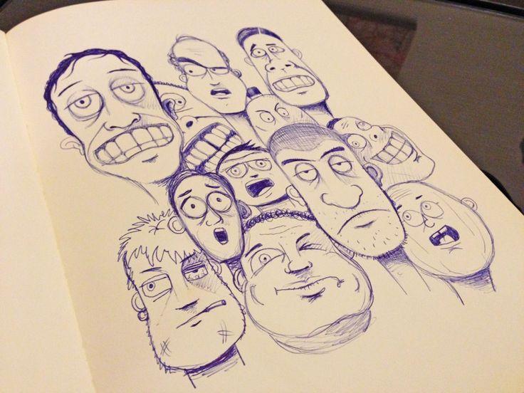 76kid | Character design doodle…