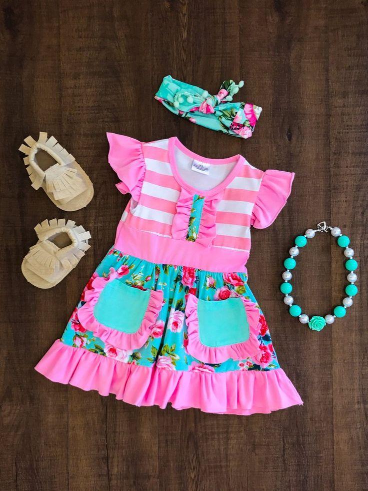 Sweet Caroline Pink Floral Dress #boutique-outfits #dresses #new #perfect-sets #spring-line