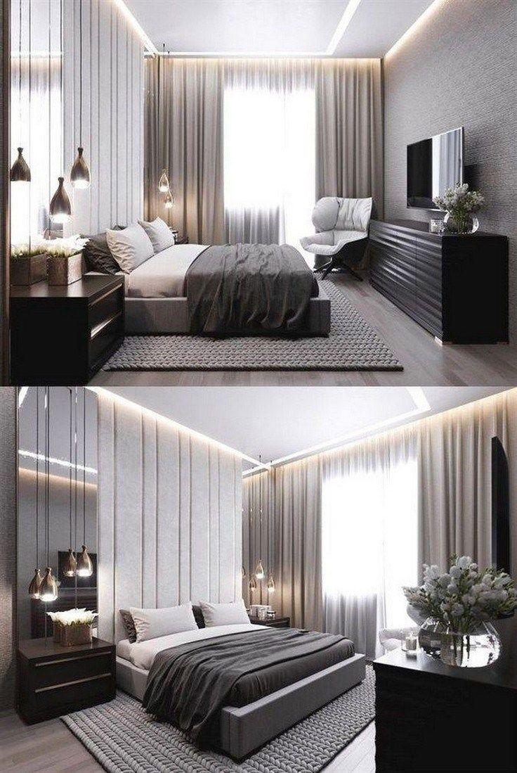 35 Stylish And Genius Master Bedroom Design Ideas 34 Modern
