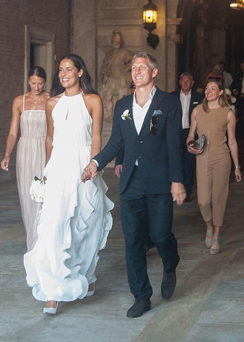 Brides: Ana Ivanovic Marries Bastian Schweinsteiger! See Photos of the Pro Athletes' Venice Wedding