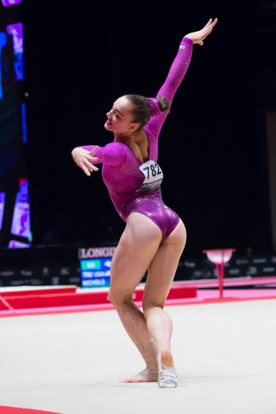 Maggie Nichols Usa 2015 World Championships Floor