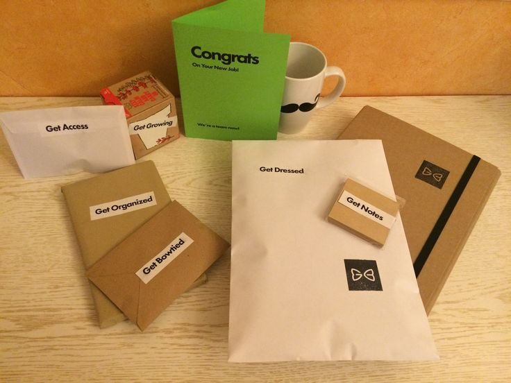 New Employee Welcome Package Ideas on Pinterest