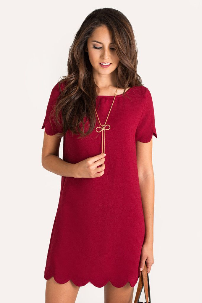 Shift dresses are so versatile because you can dress them up or down for work or play! We love pairing...