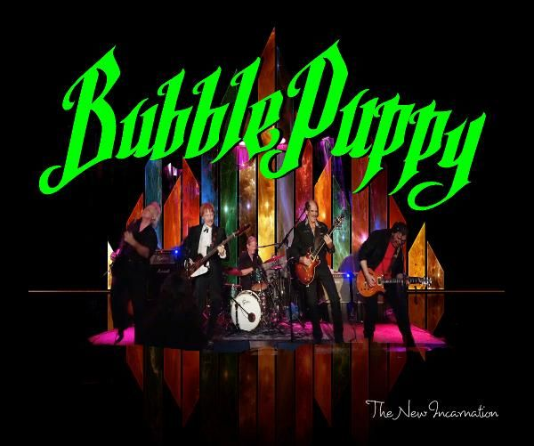 "A photo compilation of the 2013-2014 Bubble Puppy shows.  This is the new incarnation of Bubble Puppy, the 60's band known for it's hit song Hot Smoke and Sassafras.  Bubble Puppy is Rod Prince and David 'Fuzzy' Fore (original members) , Mark Miller, the ""Killer"", Jimmy 'Red Roy' Umstattd, and Gregg Stegall, the White Wolf.  Together, Bubble Puppy has not only launched a new wave of enthusiasm from fans, old and new around the globe, but the hard core talent generated from this union of…"