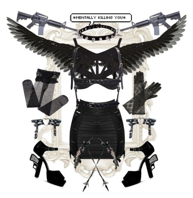 I Came Dressed To Kill by patisseriedoll on Polyvore featuring polyvore fashion style Bordelle Agent Provocateur Max and Cleo clothing