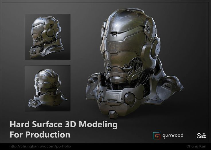 Hard Surface 3D Modeling For Production Tutorial by Chung Kan | Sci-Fi | 3D | CGSociety