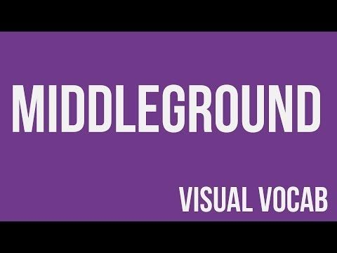 Middleground defined - From Goodbye-Art Academy - YouTube
