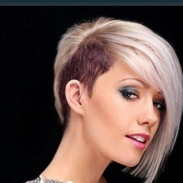 Frisuren Frauen Sidecut Frauen Frisuren Frisurenfrauen Sidecut Chin Length Hair Undercut Hairstyles Messy Bob Hairstyles