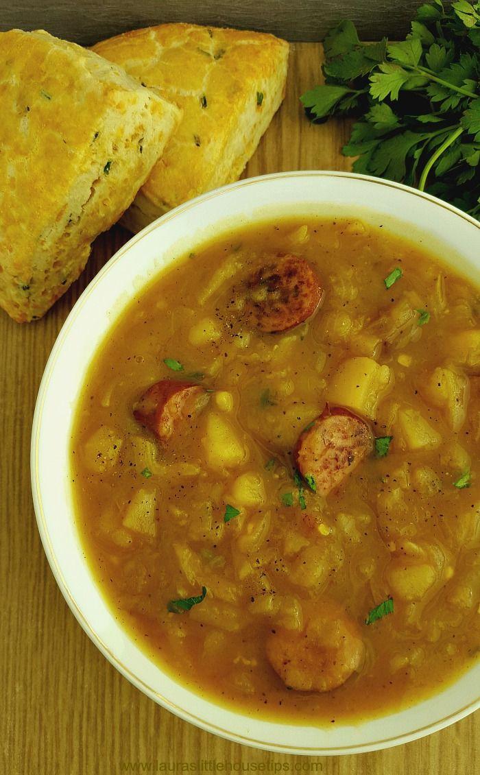 Oktoberfest Lagereintopf 2e0513473050611c85bd91274b940c09  slow cooker potato soup potato soup recipes