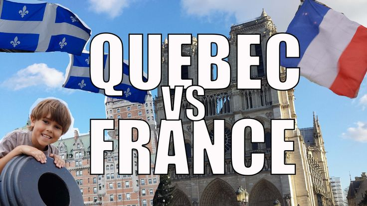 France vs Quebec. Some of the differences and similarities between French from France and French from Quebec. Filmed in Avignon, France & Quebec City, Quebec...