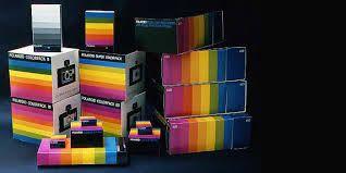 Celebrating #WorldPrideWeek with the Rainbow colors of Packaging. Ahead of their time.. Kodak Rainbow Coloured Packaging