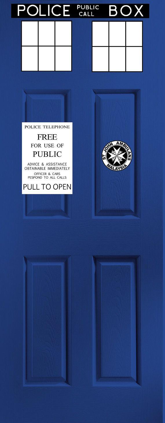 Doctor who Tardis door kit by CraftsGeek on Etsy & Oltre 25 fantastiche idee su Tardis door su Pinterest | Camera da ... pezcame.com