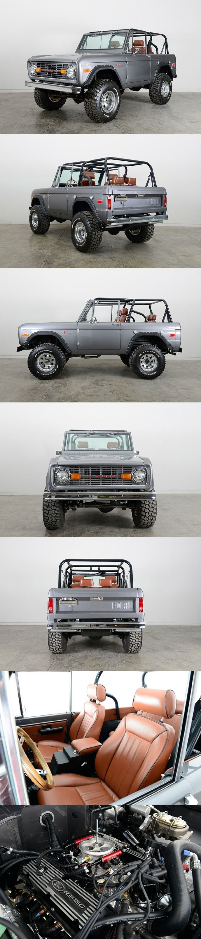 For when I finally move to the Pacific Northwest - 1974 Ford Bronco Restomod