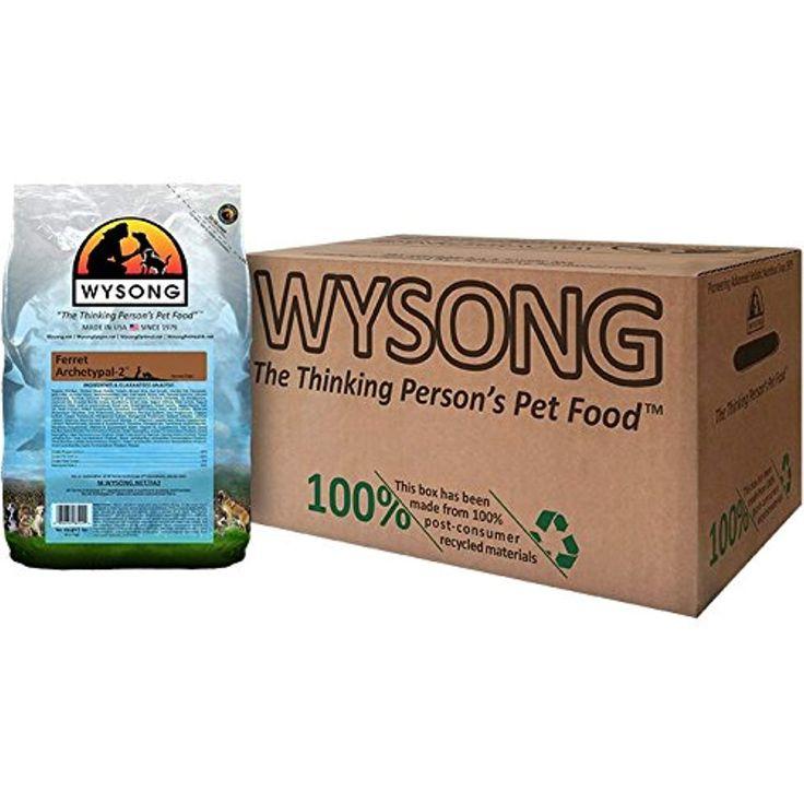 Wysong Ferret Archetypal2 Dry Ferret Food, Four 5