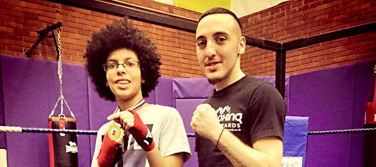 Afewee Boxing Club In Brixton provides a healthy outlet for local kids.