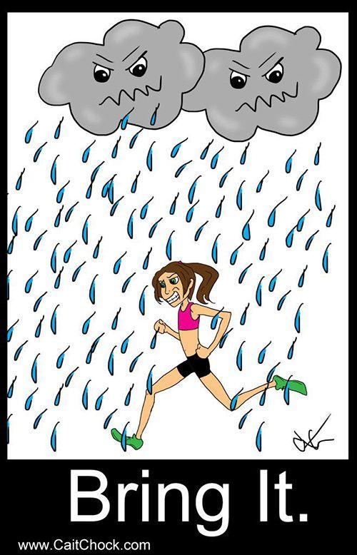 Running Matters #146: Bring it. - Running in the Rain