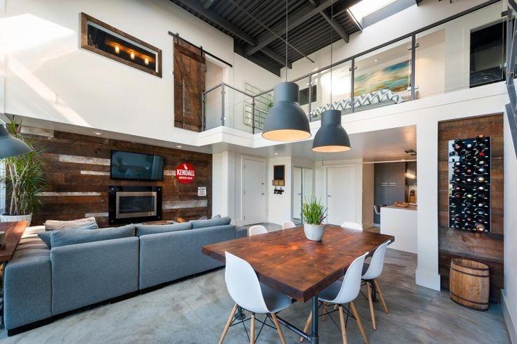 Inspiração - Dá pra transformar qualquer apartamento em um loft super descolado.