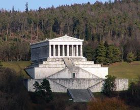 Walhalla; Regensburg, Germany (only  1 hour away from us )