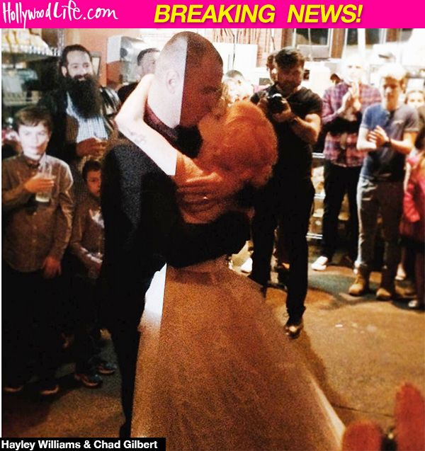 Hayley Williams & Chad Gilbert: Paramore Singer & New Found Glory Guitarist Married