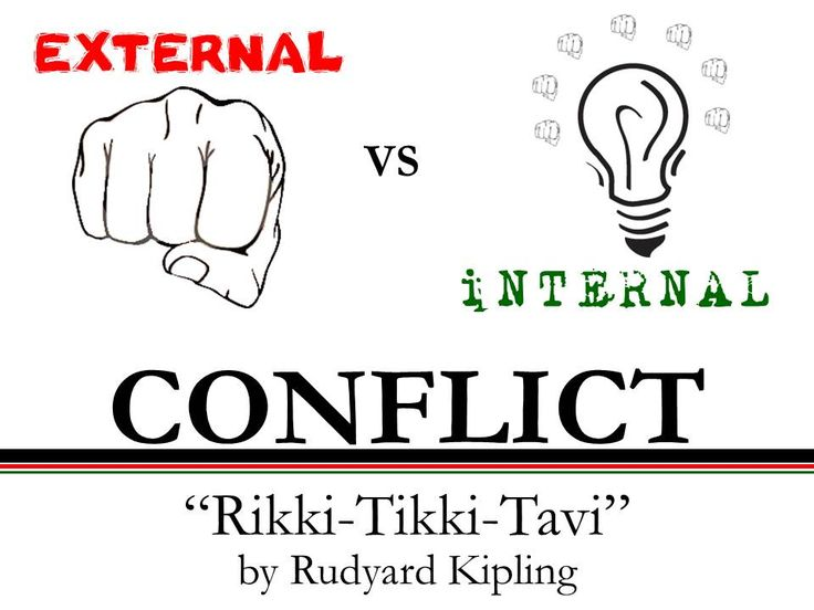 which situation is an example of external conflict