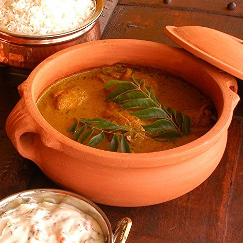 Amazon.com: Clay Curry Pot - Medium - 8 Inch: Kitchen & Dining