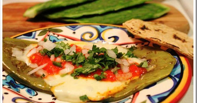 México en mi Cocina: Nopales Asados a la Plancha