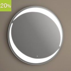 17 best images about miroir led on pinterest armoires for Eclairage sdb led