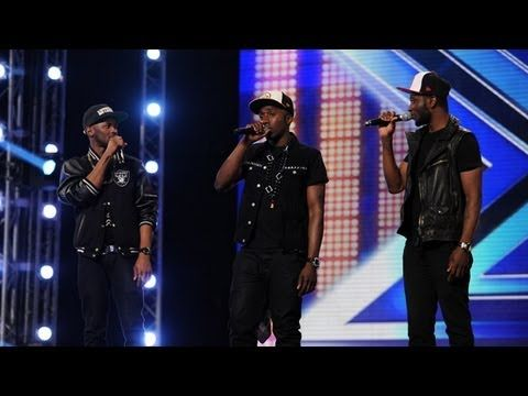 Rough Copy's audition - Kings Of Leon's Use Somebody - The X Factor UK 2012
