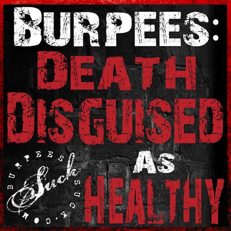 Burpees :(
