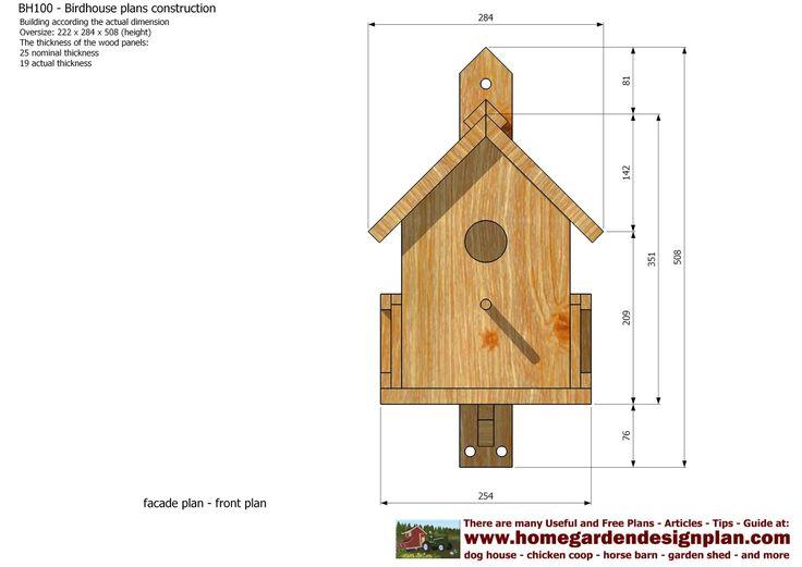 goldfinch birdhouse plans free