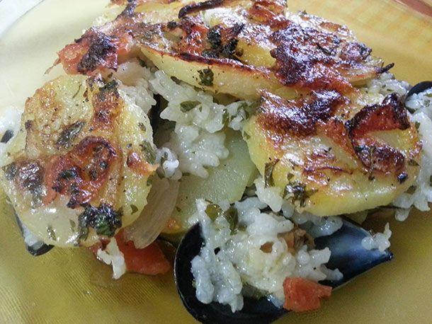 Patate riso e cozze #patate #riso #cozze #viaggiareinpuglia #vieniamangiareinpuglia