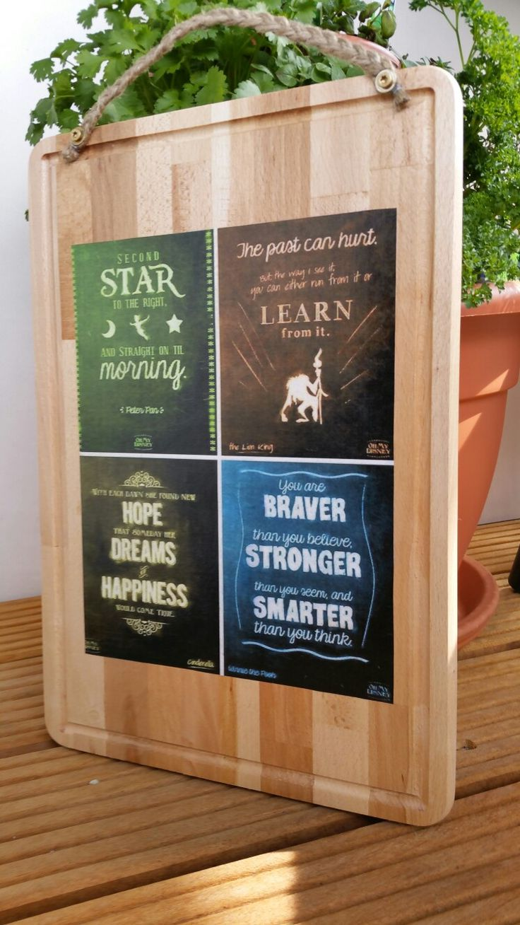 Quotes board present
