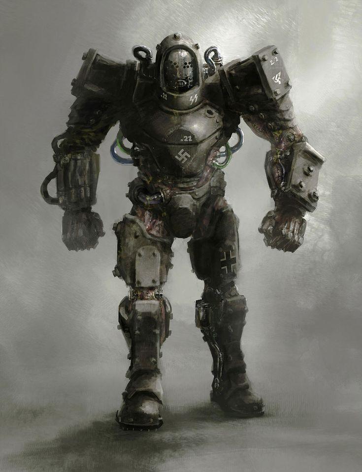Super Soldier from Wolfenstein: The New Order