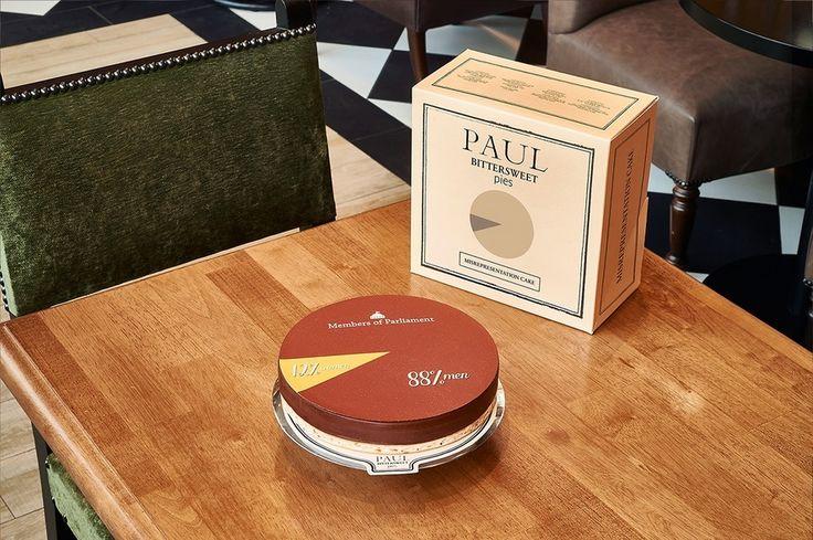 Des desserts sur l'inégalité des genres signés Paul - IN VIVO - l'ADN