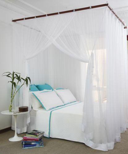 mosquiteiro de cama de casal (fabricamos todos tamanhos)