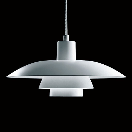 Let there be even groovier light: Louis Poulsen pendant light, for over dining table.