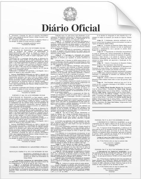 Seção 1 do DOU 12/03/2015 | Diário Oficial da União de 12 de Março de 2015