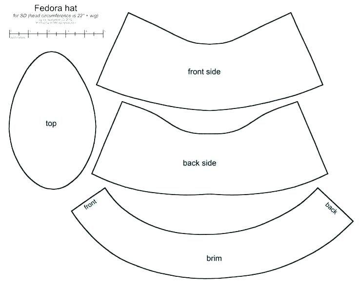 printable cowboy hat free clip art paper plate template