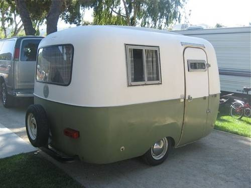 'El Macho' Built by Land N' Sea Boat company of San Jose, CA. It is their version of the famous Boler, and it is nearly identical.