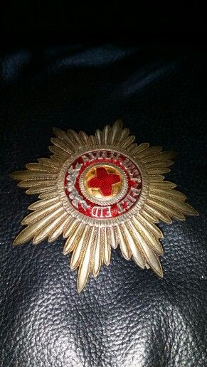 Order of St Anne Russian Badge