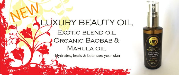 Spring is just around the corner -luxurious and exotic organic baobab oil and marula oil from Soylites