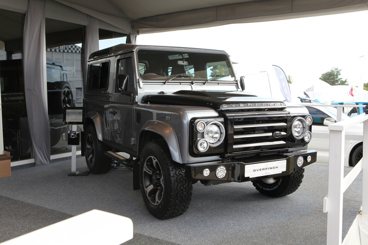 The Overfinch Defender on our stand at the Goodwood Festival of Speed.