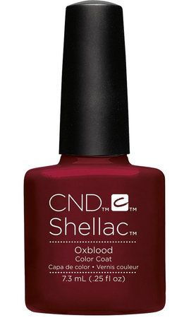 CND Shellac Oxblood
