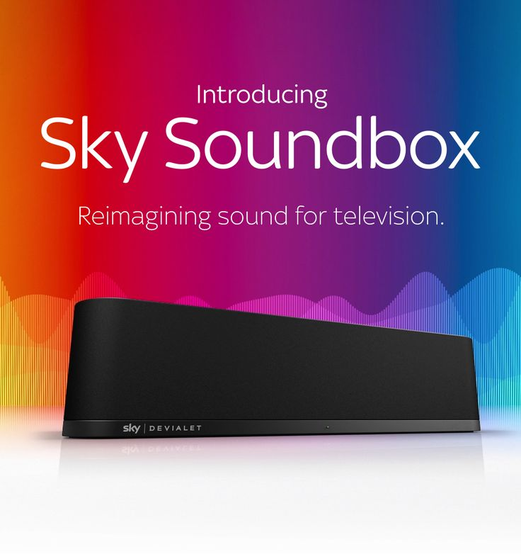 Sky Soundbox - Take your Sky TV entertainment experience to the next level