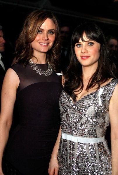 Emily & Zooey Deschanel. I love Zoey's new sitcom, New ...