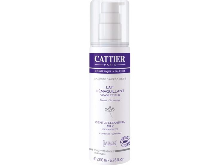 Cattier – Lapte Demachiant Caresse d'Herboriste(200ml)