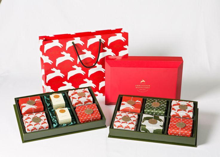 國賓大飯店獻上「悅兔」、「花綻」月餅禮盒 獨創手繪藝術風格包裝